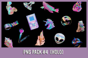 PNG Pack #4 [Holo ect.] by xForeverwitchy