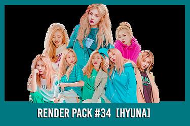 Hyuna [Render Pack #34]