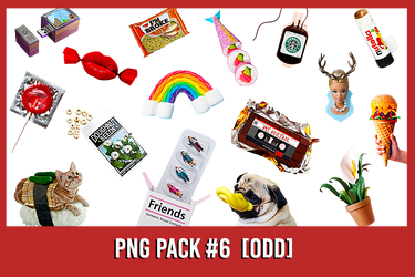 PNG Pack #6 [Odd]