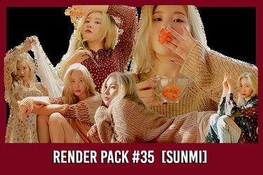 Sunmi [Render Pack #35]