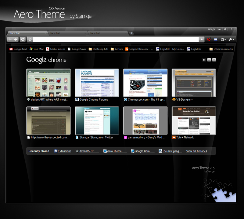 Aero Theme - CRX Version 1 5 by Stamga on DeviantArt