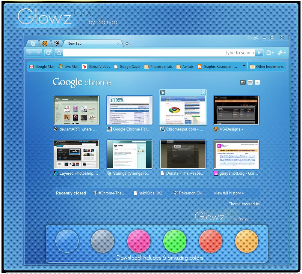 Glowz V2 - 6 Color Pack by Stamga
