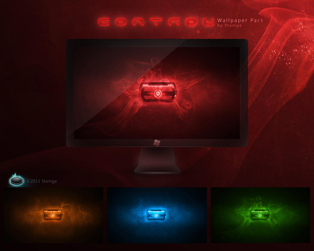 Control - Wallpaper Pack by Stamga