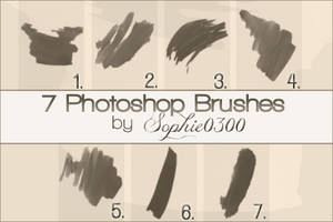 Photoshop Brushes by Sophie0300