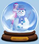 Animated Snow Globe: Telena by Coraleana
