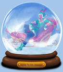 Animated Snow Globe: Kalde
