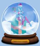 Animated Snow Globe: Leilani