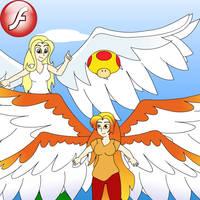 Feathered Dreams by Jackurai