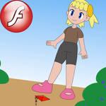 Serena and Bonnie's Shrunken Adventure