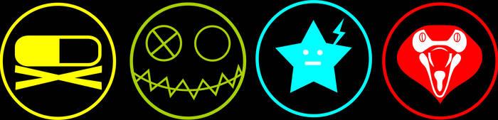 MCR Killjoy Logos by chaotezy