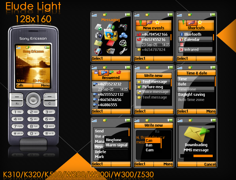 Elude Light 128x160