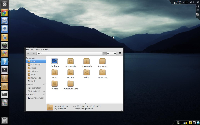 Edgebound Desktop 0.2 by techunit