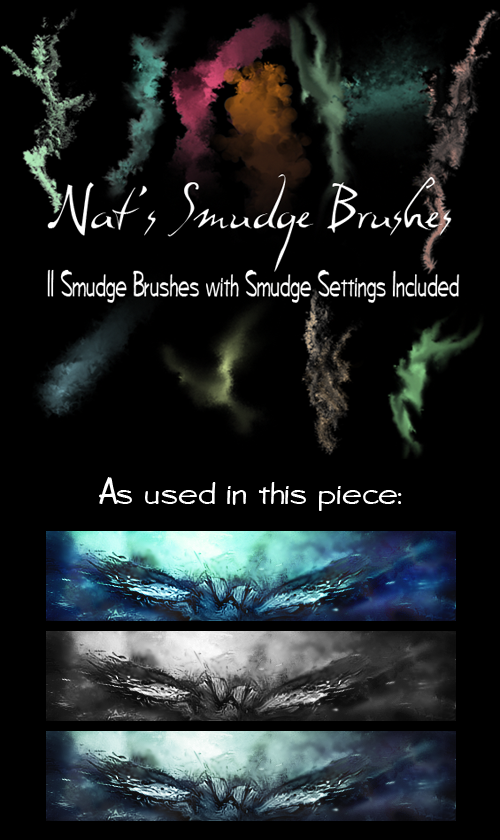 Smudge Brush Pack by juggsy