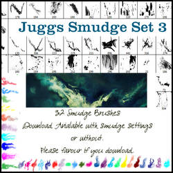 Smudge Brush Set 3 WITH settin by juggsy