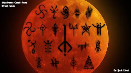 Bloodborne Caryll Runes by lolly535