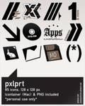 pxlprt icons