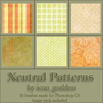 neutral patterns by vblackangelv