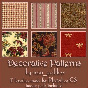 decorative patterns by vblackangelv