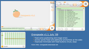 Orangeade Skin for VLC