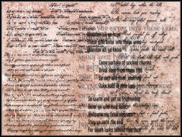 Text Brushes II by flordelys-stock