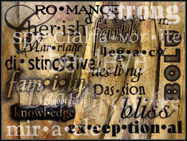 Words II by flordelys-stock