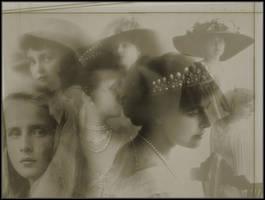 Vintage Ladies by flordelys-stock