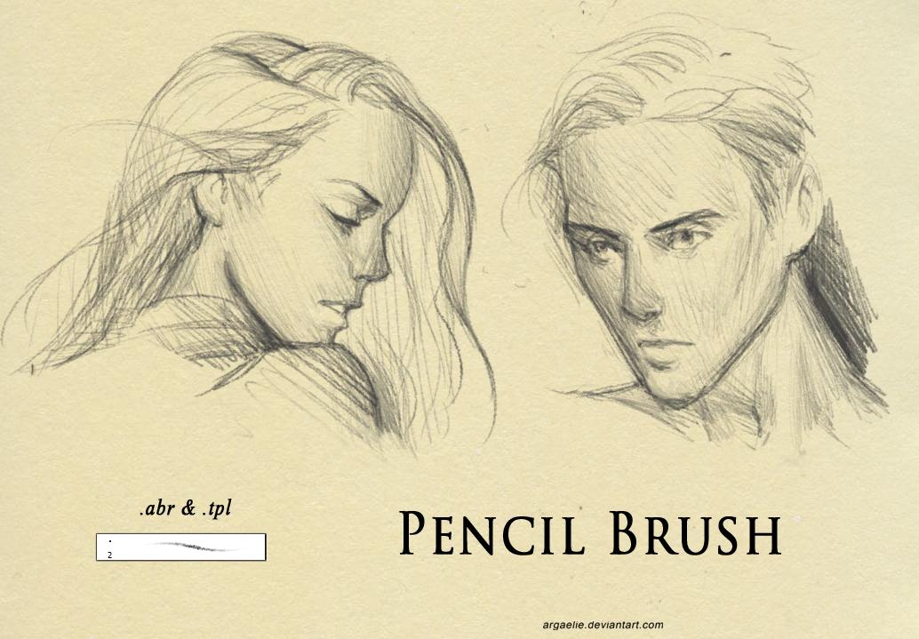 Pencil Brush by xiliuv