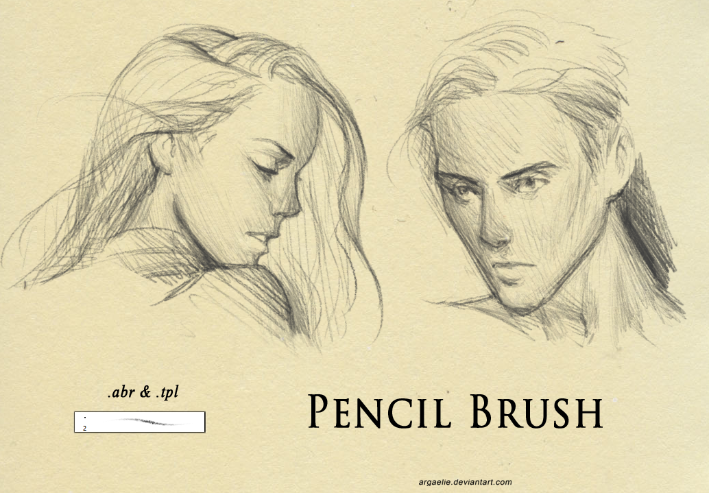 Pencil Brush by argaelie