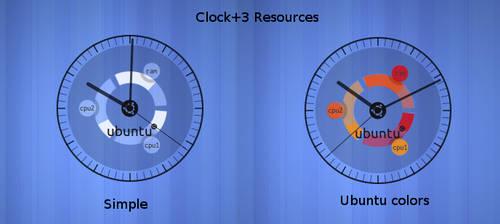 ubuntu-nsclock-V2 by laabiyad