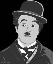 Charlie Chaplin: Vector Art
