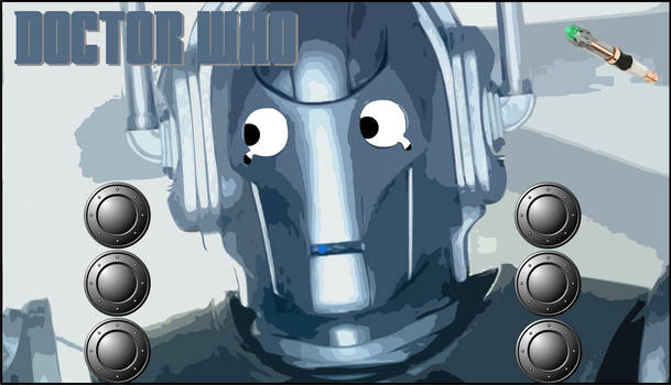 Interactive Cyberman Sound Board from Doctor Who