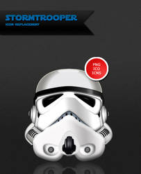 Stormtrooper Icon by B4lth4s4R