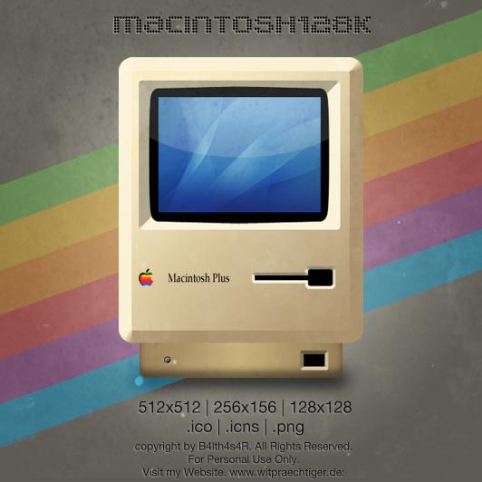 RetroMac Icon by B4lth4s4R