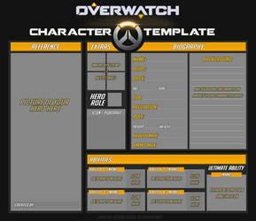 Overwatch Original Hero Template by DarthSuki