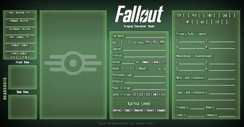 Fallout OC Meme 2.0 by DarthSuki