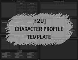 [F2U] Character Profile Template by DarthSuki