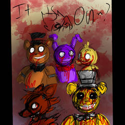 Going to make Fnaf comic. by SilverBaze