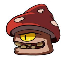Bouncy Mushroom
