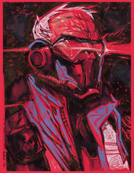 Soldier76 RED
