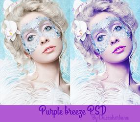 Purple Breeze PSD by chiccaherbana