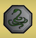 Snake Talisman by Z-studios
