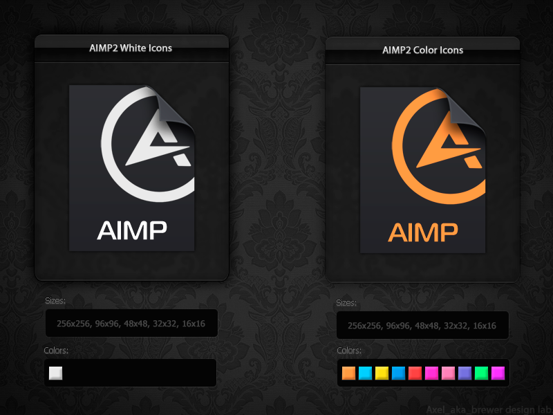 Aimp2 File Icons By Aablab On Deviantart