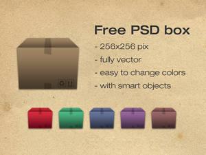 Free psd box