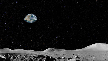 Earth Rise by Mainer82