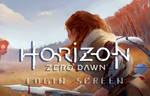 HORIZON ZERO DAWN - LOGIN SCREEN