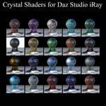 Crystal Shaders for Daz Studio iRay