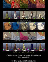 Textile Shaders for Daz Studio iRay Sheer Pt. 1 by BohemianHarlot