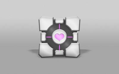 Heartcube Wallpaper