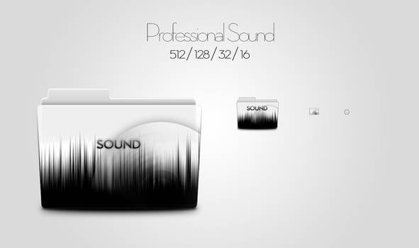 Professional Sound - Icon