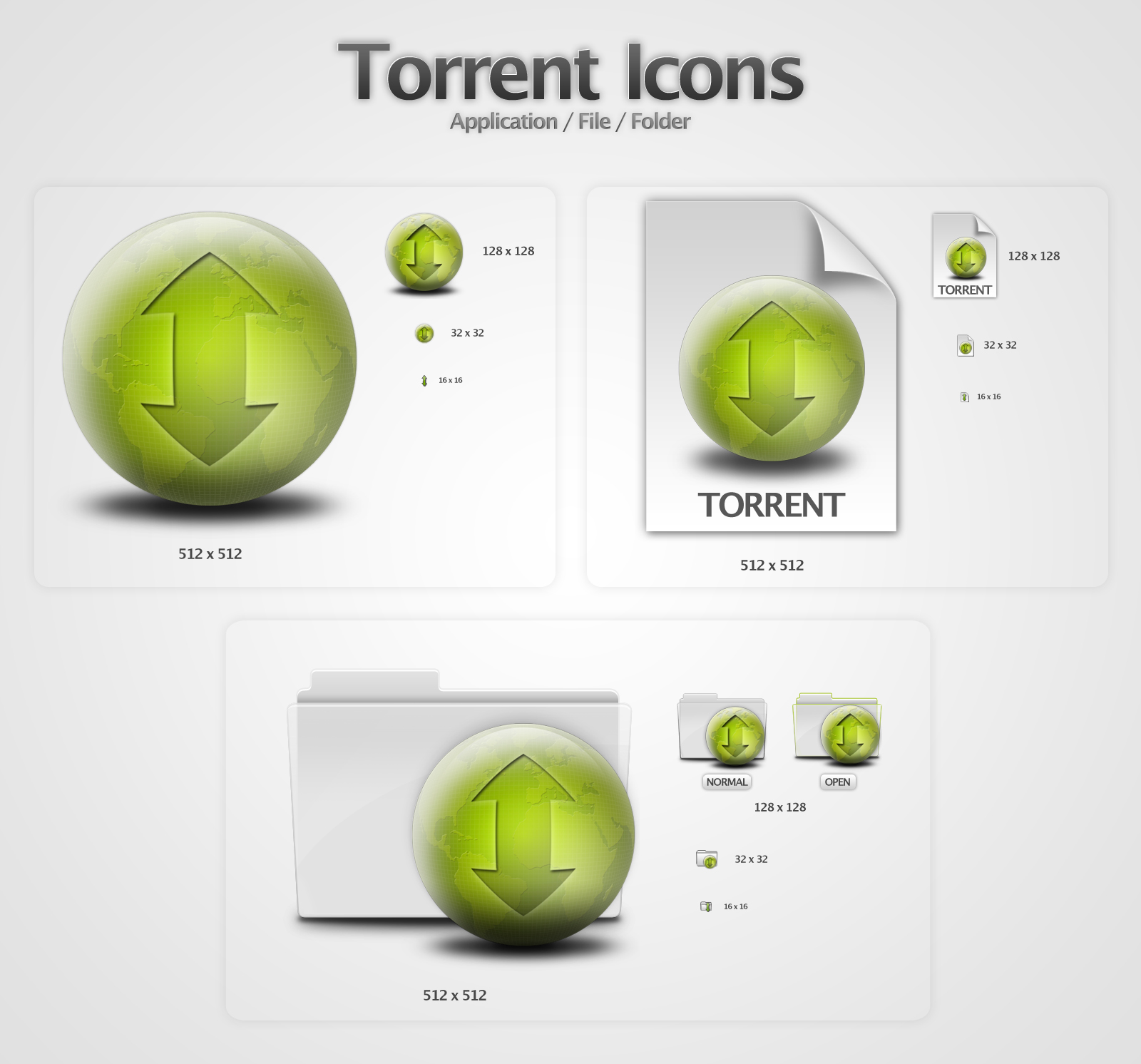 Torrent Icons